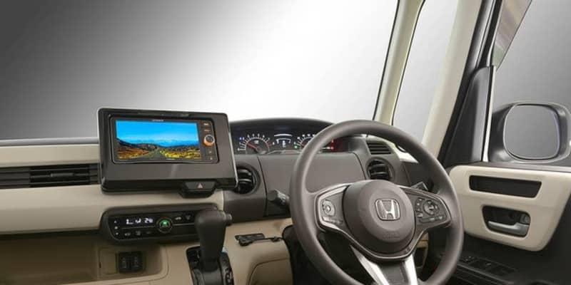 ホンダ N-BOXN-WGN に市販200mmワイドカーナビを装着、カナックが取付キット発売