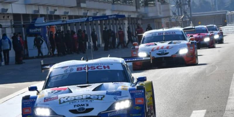 TOYOTA GAZOO Racing、2021年のGT500ラインアップを発表。3台がドライバー変更