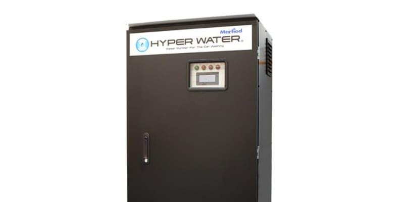 「洗車後の拭き取り不要」ウォータースポットが残らない超純水ユニット、本格販売開始