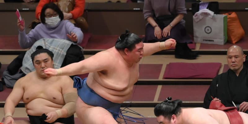 優勝争い並走2力士 14日目は正代が照ノ富士と、大栄翔は玉鷲と対戦