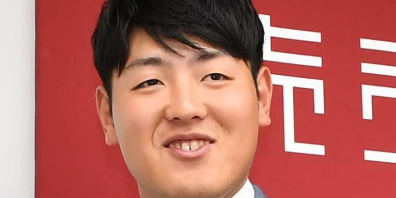 """巨人・丸、岡本がオンライントークショーで""""ききメロン""""に挑戦"""