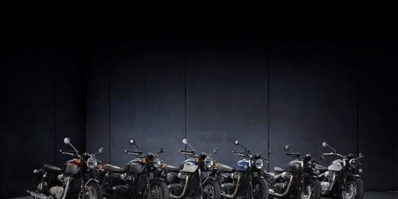 トライアンフ 2021年ボンネビルシリーズ発表、高性能かつスタイリッシュに進化