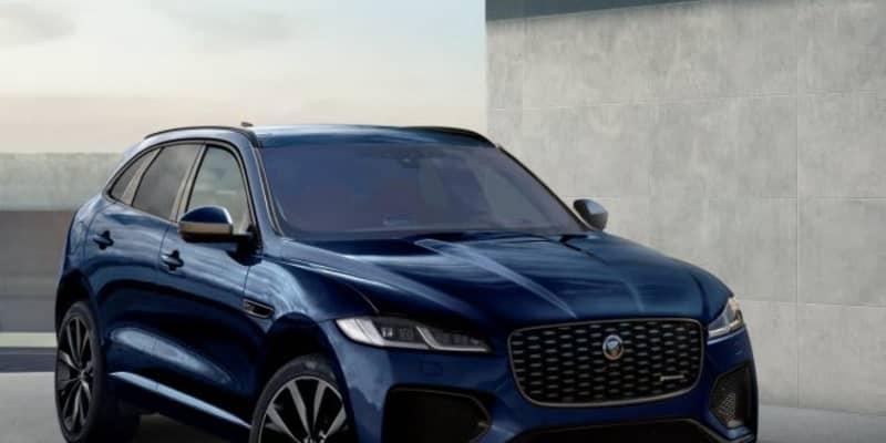ジャガーの人気SUV『F-PACE』が最新フェイスに。MHEVやローンチ・エディションも導入