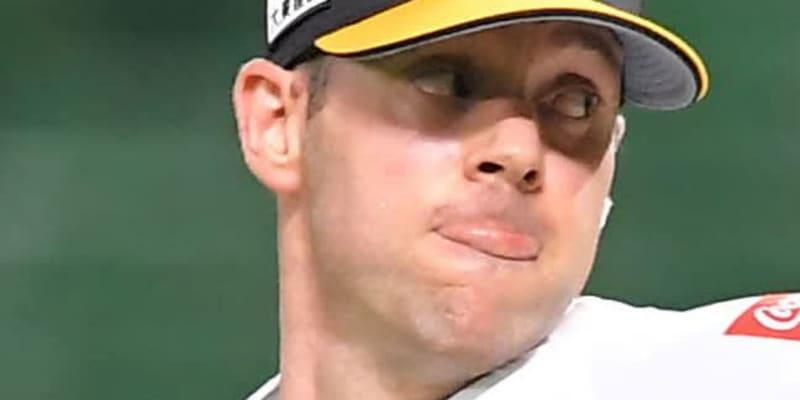 バンデンハークがヤクルト入り 背番号15「神宮球場でプレーすることは特別」