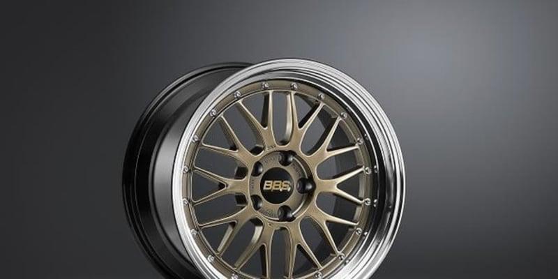 BBS アルミ鍛造2ピースホイール「LM」、ゴールドカラーの限定モデル発売へ