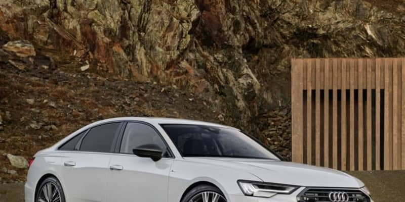 アウディ A6 セダン PHVを改良、EVモードは最大91kmに拡大…欧州発表