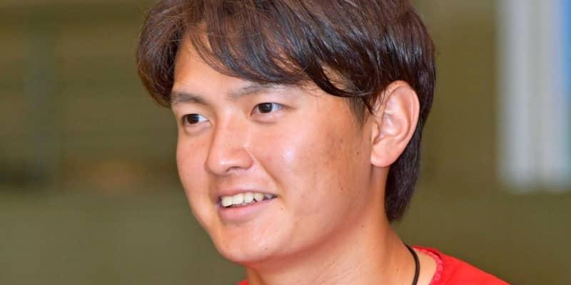 広島ドラ3大道「チームのために投げたい。先発枠こだわりない」理想は斉藤和巳氏