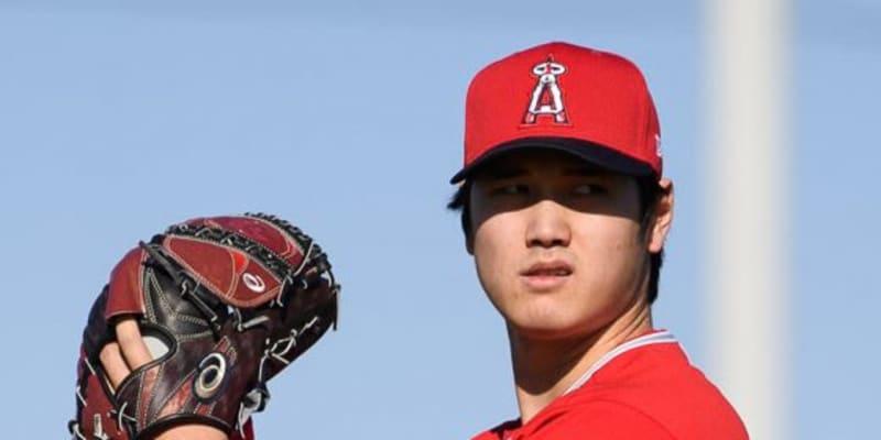【MLB】大谷翔平、初のライブBP登板でいきなり156キロ! 「肘の馴染み方いい」