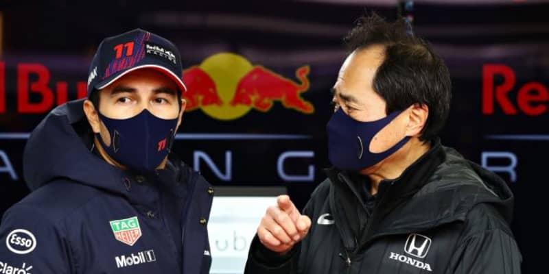 2021年型レッドブル・ホンダF1のシェイクダウンを行ったペレス「多くのポテンシャルを感じる。この車と共に勝利を目指す」