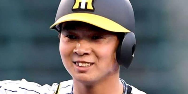 阪神・井上、左膝打撲の診断 23日にノックで負傷も大事に至らず