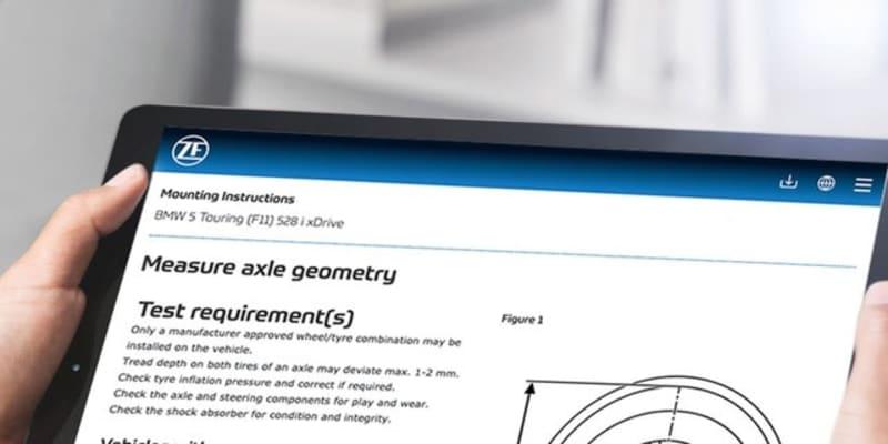 ZF、アフター市場向けサイトを一新…デジタル化で修理工場を支援