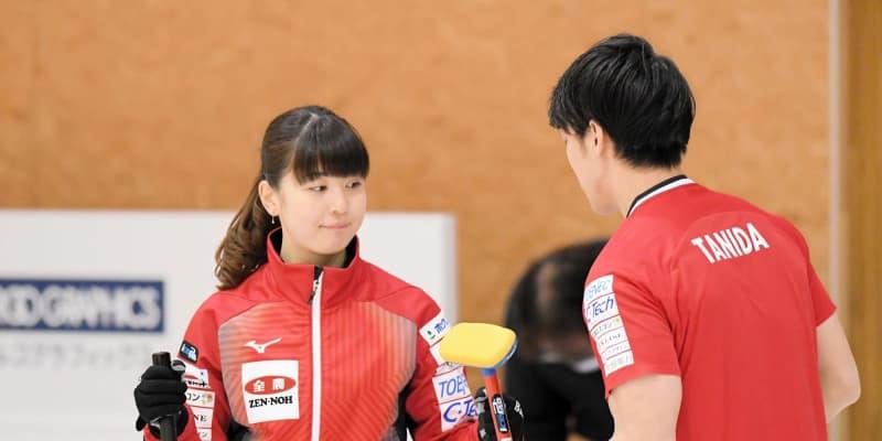 カーリングで親子対決実現 松村千秋が両親ペア破る「ナイススイープと声かけたくなった」