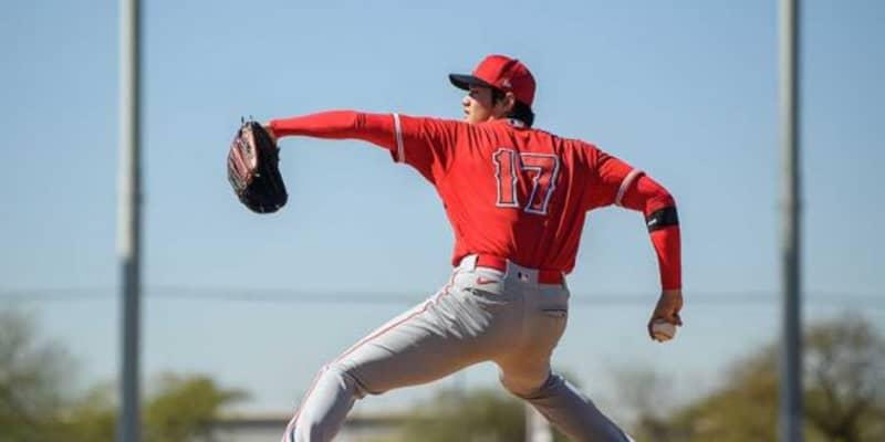 【MLB】大谷翔平の初ライブBP登板から感じさせる投球の進化「強い強度で投げる」