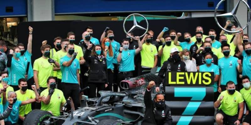 ハミルトンとメルセデスF1、ローレウス世界スポーツ賞に7年連続でノミネート
