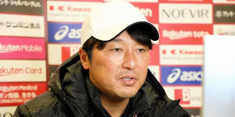 神戸・三浦監督 イニエスタ不在の開幕戦「100%ではないが…」決意語る