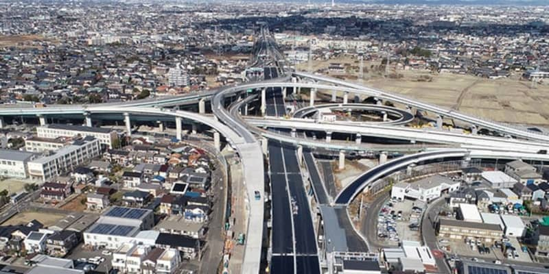 名二環、5月1日より全線開通---名古屋高速と合わせた対距離料金制を導入