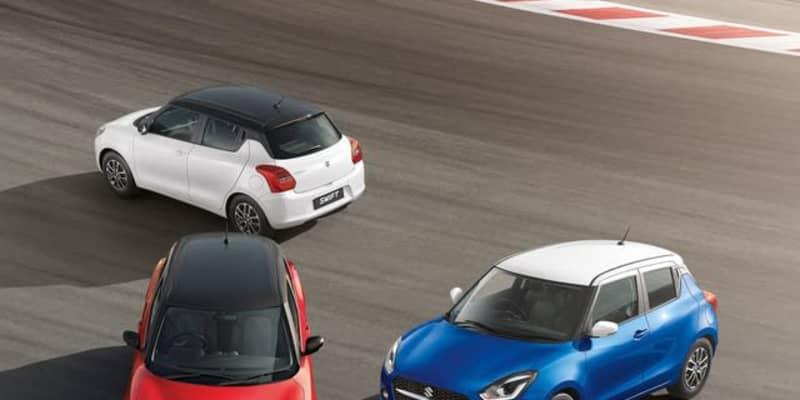 スズキ スイフト に2021年型、燃費23.76kmリットルはクラス最高…インド発表