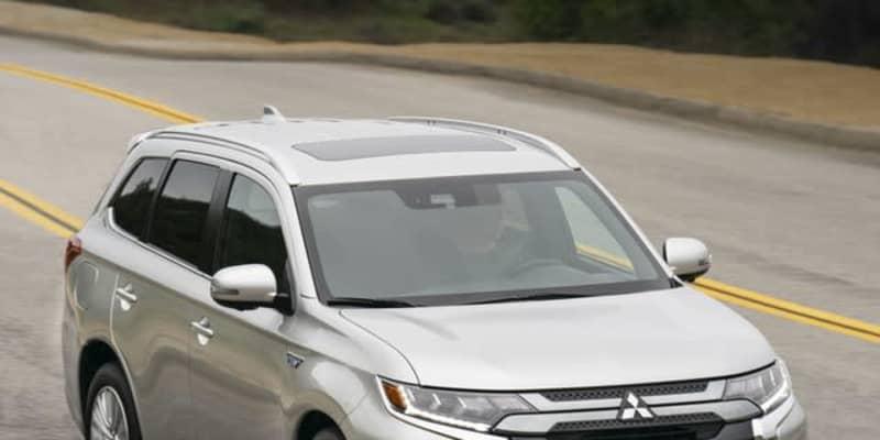 三菱 アウトランダーPHEV、EVモードの航続を9%拡大…2021年型を米国発表