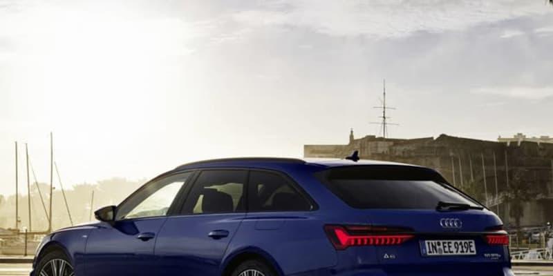 アウディ A6アバントPHV に新グレード、燃費66.6kmリットル…欧州発表
