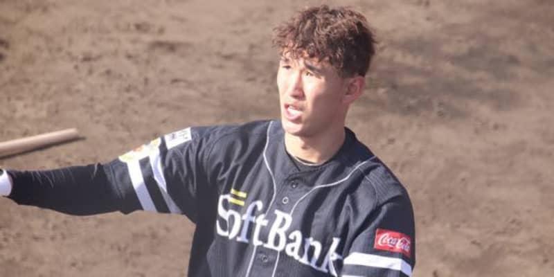「どんな時でもちゃんと振る」鷹・小久保ヘッドが名前を挙げて評価した5年目野手とは?
