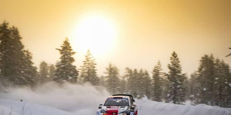 【順位結果】2021年WRC第2戦アークティック SS2後