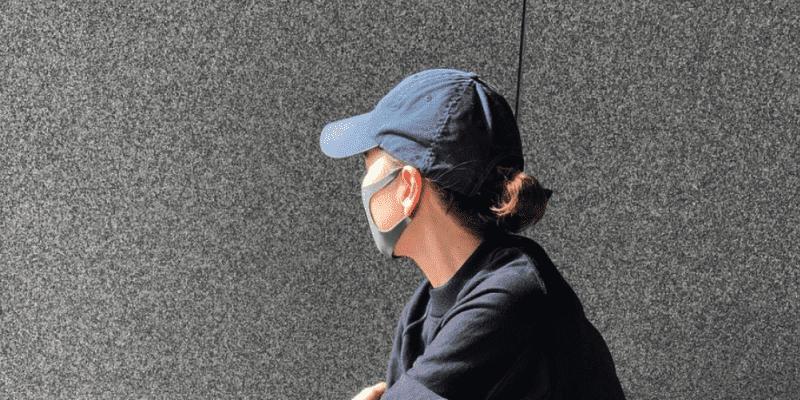 """「あきさん💓格好イイ👍」清原和博の元妻・亜希 """"のり弁スウェット""""着こなし術を披露"""