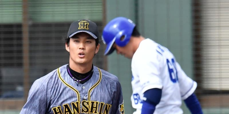 阪神・藤浪、3回3安打1失点と粘投 開幕ローテ入りへアピール