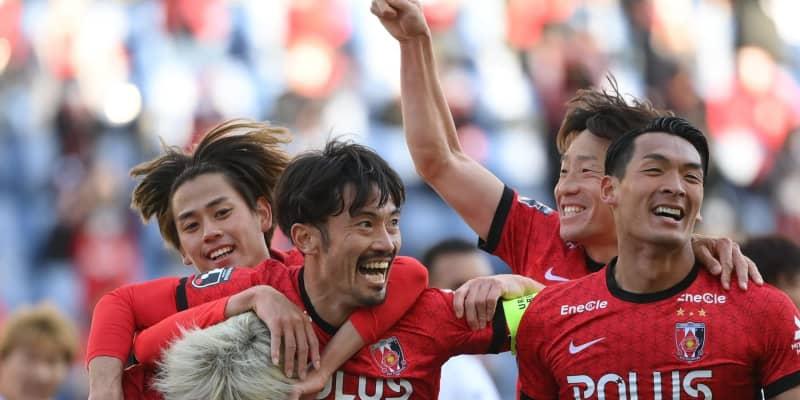 浦和がベテランMF阿部勇樹のゴールで先制 今季主将に復帰 埼スタ盛り上がる