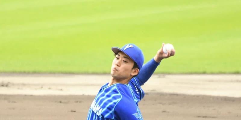 DeNA三浦監督、ドラ1入江に「開幕ローテ見えてくる」3回1安打無失点の好投