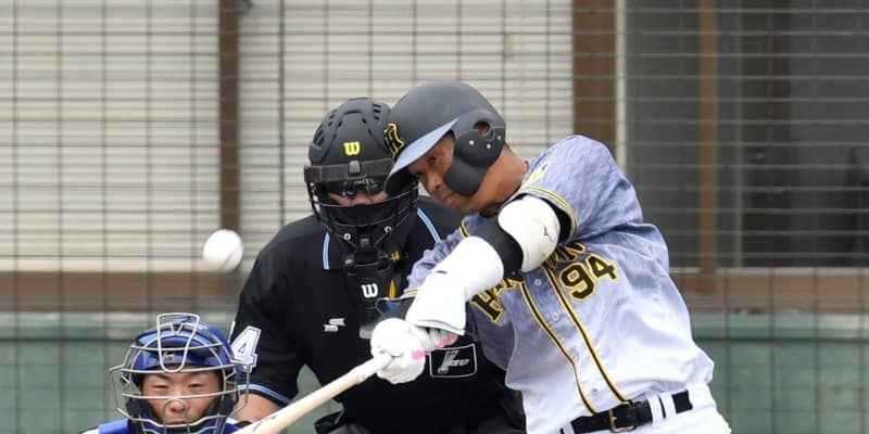 阪神・原口が代打弾「甘いボールを一振りで仕留められた」