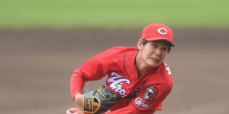 広島ドラ2左腕・森浦、巨人左打者封じる「左打者を抑えないとチャンスなくなる」