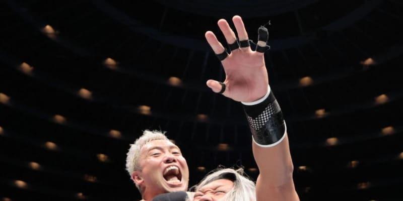 オカダがEVIL成敗 2冠論争「つまらねえ」IWGP獲り宣言