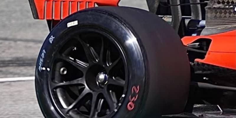 フェラーリF1、今年初の18インチタイヤテストを終了。2022年導入に向け大量のデータを収集