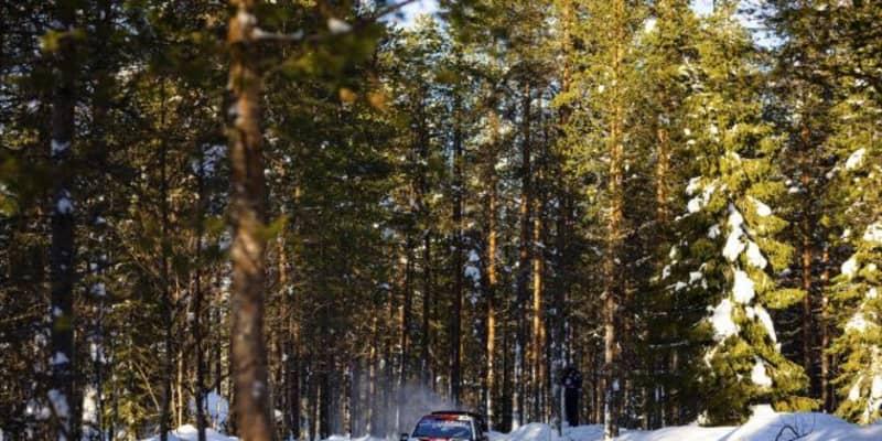 【順位結果】2021年WRC第2戦アークティック SS8後