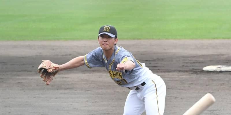阪神ドラ2・伊藤将 初対外試合で1回1安打無失点 逆転開幕ローテ入りへアピール
