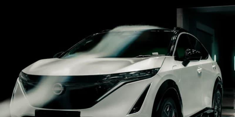 日産のクロスオーバー車、最も空力性能が高いのはEV『アリア』に…Cd値0.297