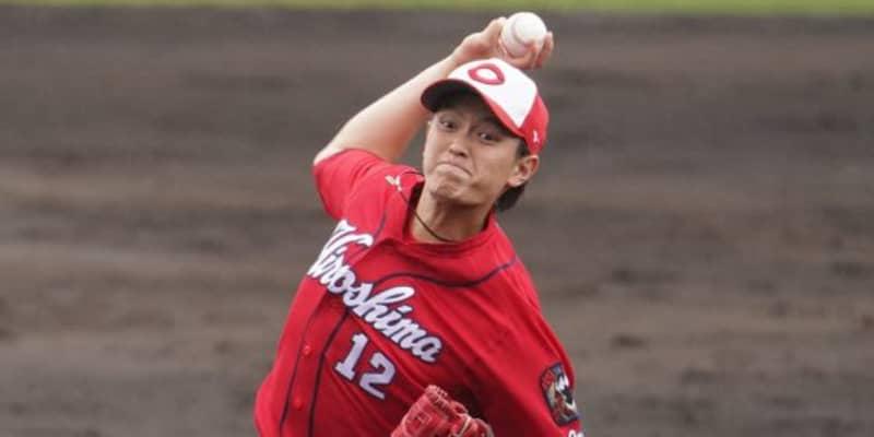 前田健太も注目「いいピッチャー」 度胸満点の広島ドラ3右腕は評価うなぎ上り