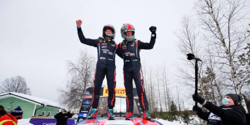 【順位結果】2021年WRC第2戦アークティック SS10後