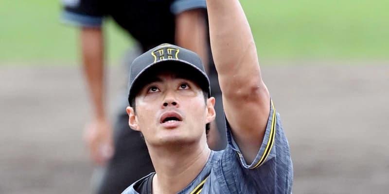 阪神・チェン 上々虎デビュー!初回被弾も修正 移籍後初実戦で2回3安打1失点
