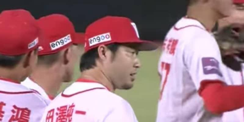 田澤純一、初セーブでチームOP戦初勝利に貢献 147キロ記録し1回1安打無失点の好投