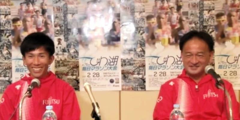 マラソン日本新の鈴木健吾「少しずつ実感」「思った以上にダメージ」