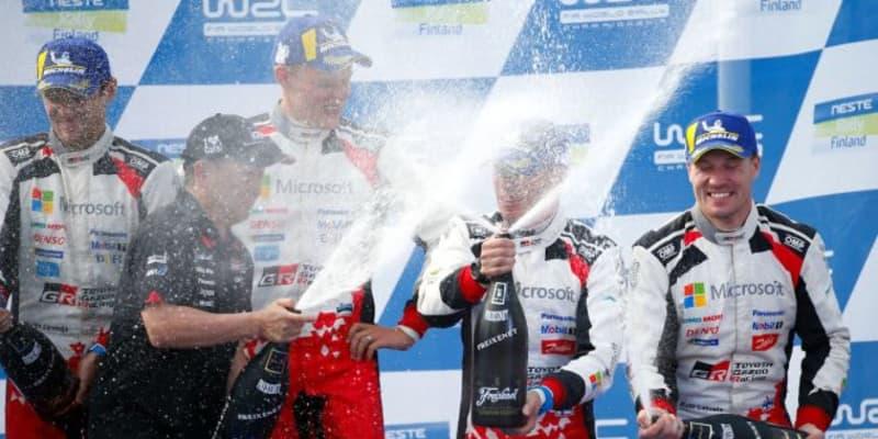 豊田章男オーナー「この結果に感謝しかない。ありがとう」WRC第2戦を終えたチームに謝辞
