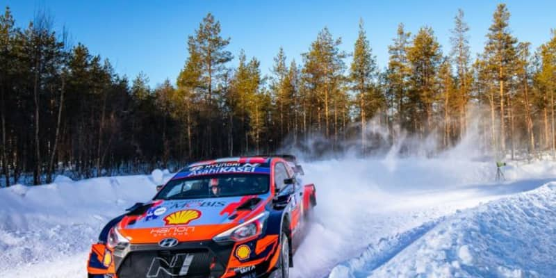 開幕戦リタイアのタナクが雪辱。WRC第2戦アークティック、トヨタ最上位はロバンペラ
