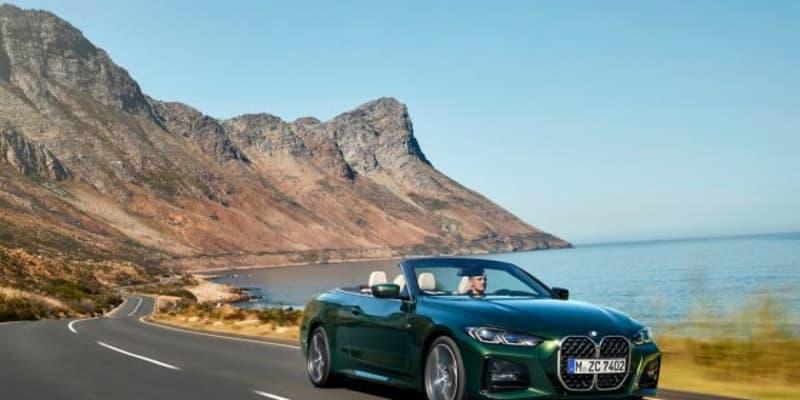 新型『BMW 4シリーズ・カブリオレ』登場。3リッター直6とxDrive搭載のMパフォーマンスも設定