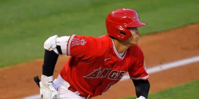 【MLB】大谷翔平、第1打席で右前打&得点 今季初実戦、Wソックス戦に「2番・DH」で出場