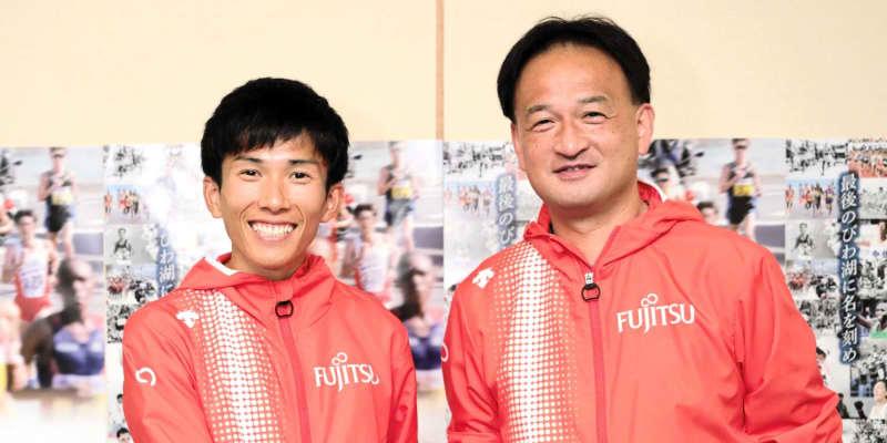 鈴木健吾、マラソン日本新から一夜明け「少しずつ実感」 今後は福岡国際などに挑戦