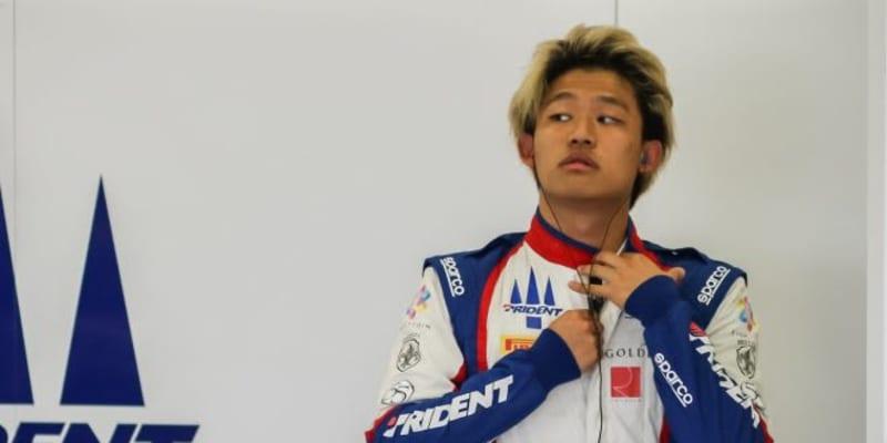 佐藤万璃音、2021年もFIA-F2選手権にフル参戦。トライデント残留が決定