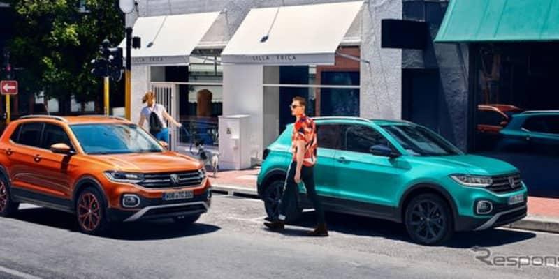 VW T-クロス、カタログモデルの販売開始…2グレード展開で価格は278万円より