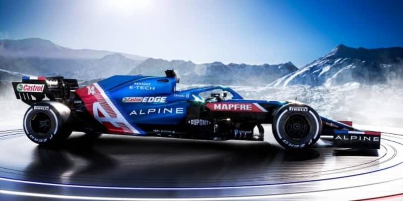 2021年型アルピーヌF1『A521』:目標は表彰台。大改革ではなく進化を達成、PUの信頼性と性能にも自信あり