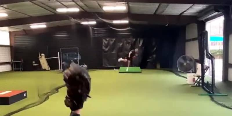 "【MLB】捕手目線で""5球種の違い""がはっきりと… 21歳有望株が公開した驚異の投球動画"